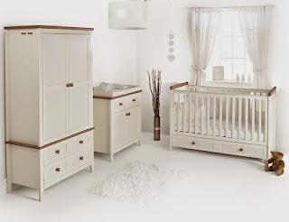 habitación bebé neutra