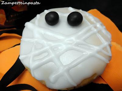 Biscotti mummia - Ricetta Halloween