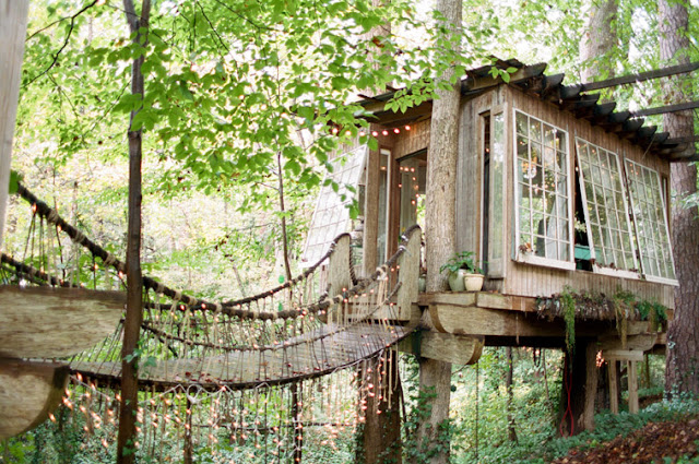 Unique Atlanta Treehouse Wedding