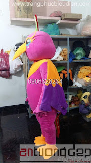 nhận may mascot