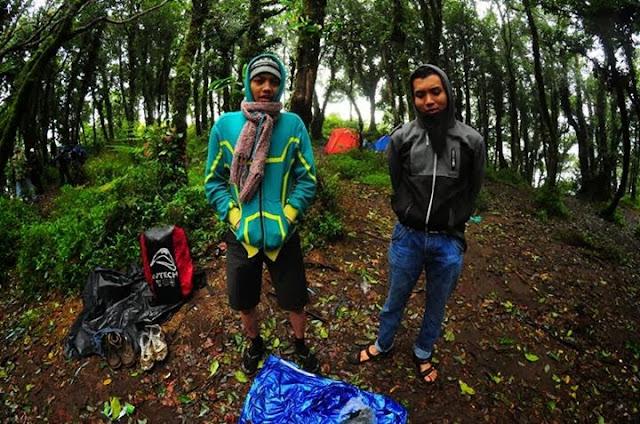 Camping di gunung Ungaran