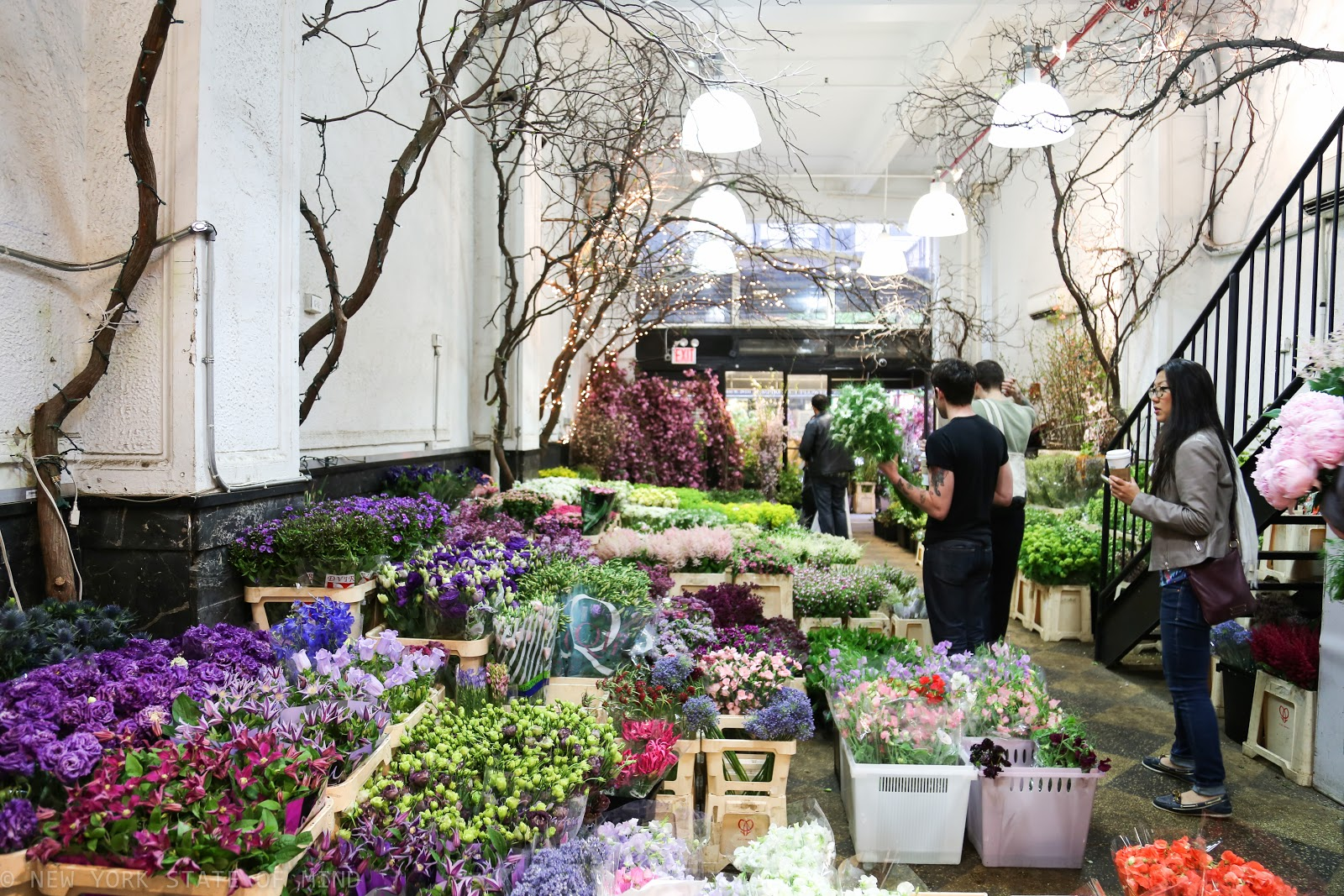 New York State Of Mind: New York Flower District