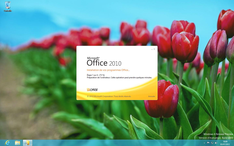 comment reparer office starter 2010