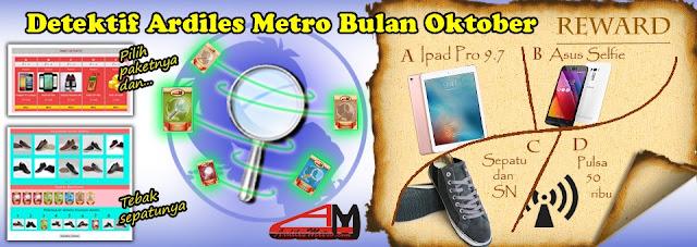 Detektif Ardiles Metro Bulan Oktober