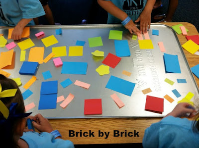 Sticky Note Collage (Brick by Brick)