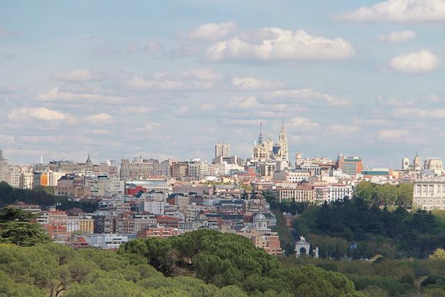 Madrid telefericosta, kaapelihissi Casa de Campoon