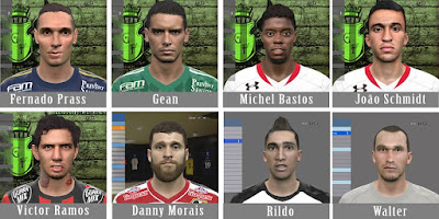 PES 2016 Facepack BR#2 by Gleidson Facemaker