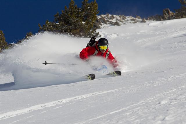 Ski Freeride avec l'équipe de Bon Appetit