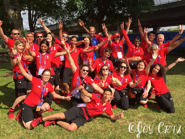 Photo de groupe, team sustainability EURO 2016