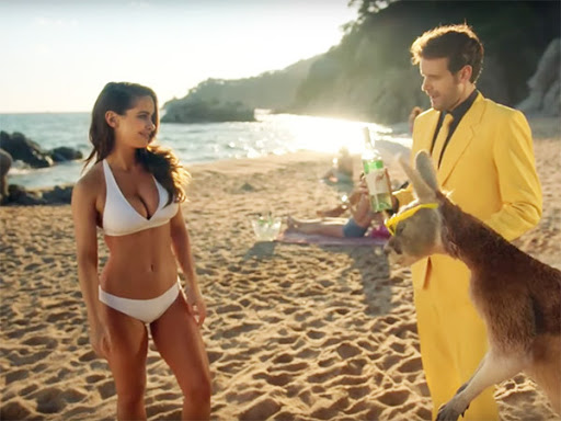Yellow Tail Wine Super Bowl Ad - Yellowtail Wines Commercial w/ Ellie Gonsalves