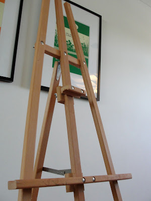 large adult sized art easel