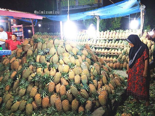 pondok penjualan nanas madu pekanbaru
