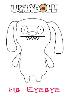 Ugly Doll Coloring Pages | Coloring Pages to Print