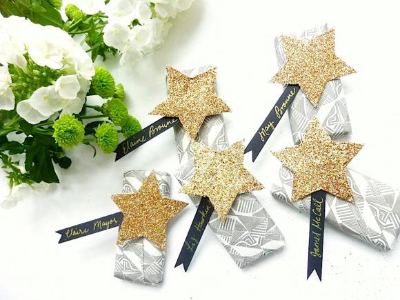 Star Themed Wedding Favours Favor Diy