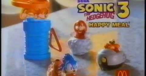Mcdonald S 1993 Sonic The Hedgehog 3