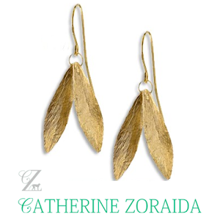 Kate Middleton Wore - CATHERINE ZORAIDA Earrings