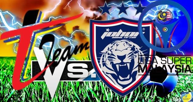 Live Streaming T-Team vs JDT 22.7.2017 Liga Super