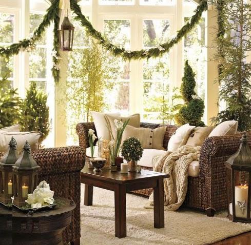 guirnaldas ventanas con guirnaldas como decorar la casa en navidad navideas