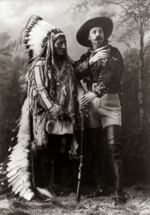 cody and sitting bull