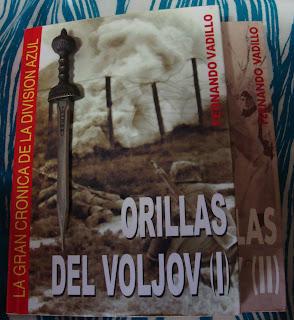 Portada del libro Orillas del Voljov, de Fernando Vadillo
