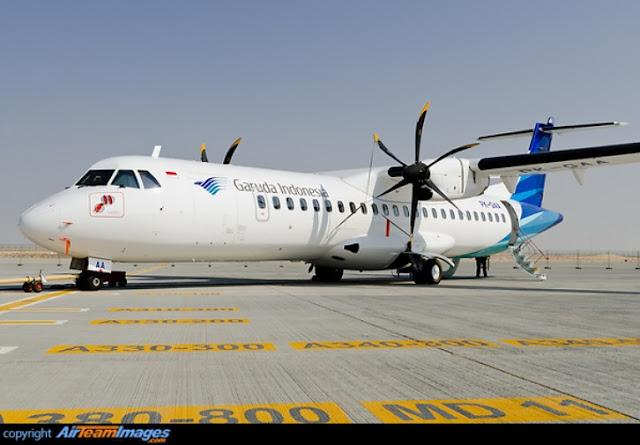 GI Akan Layani Penerbangan Ke Selayar, Dengan ATR72-600