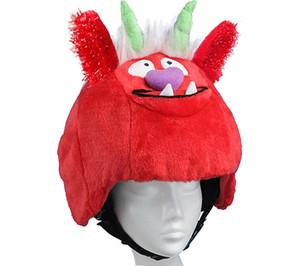 Diseño de casco peluche