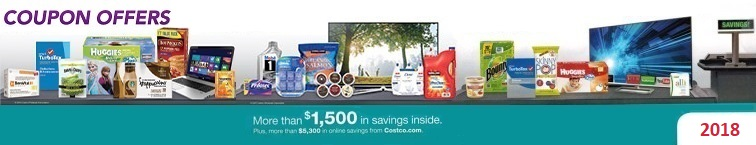 Download the Current July 2018 Costco Coupon Book for deals and extra savings