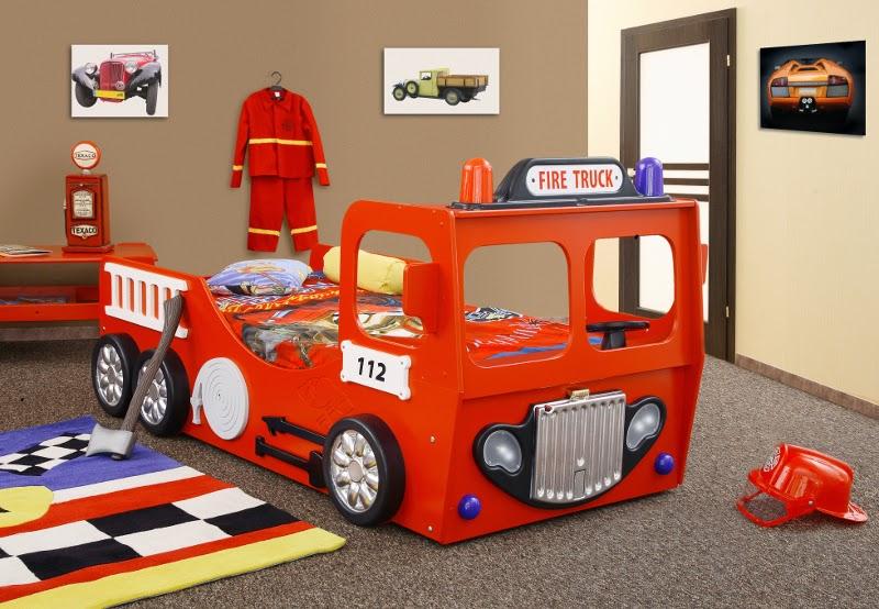 Letto A Castello Pompieri.Camere Per Bambini Camere Per Bambini Letto Pompiere Auto Letto
