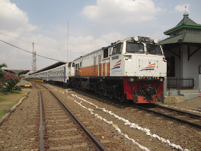 Foto ilustrasi kereta api.
