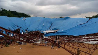 Nigerian church collapses killing congregation