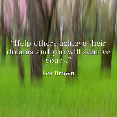Inspirational quotes by Les Brown, motivational speaker