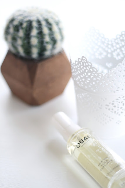 ouai, hair oil, hair care, product review
