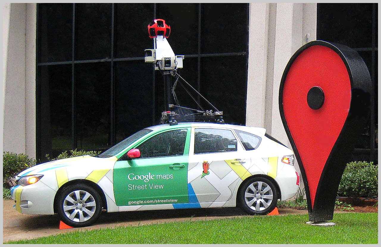 Google Maps Send To Car: Oil-Electric: Here Comes The Google Camera Car