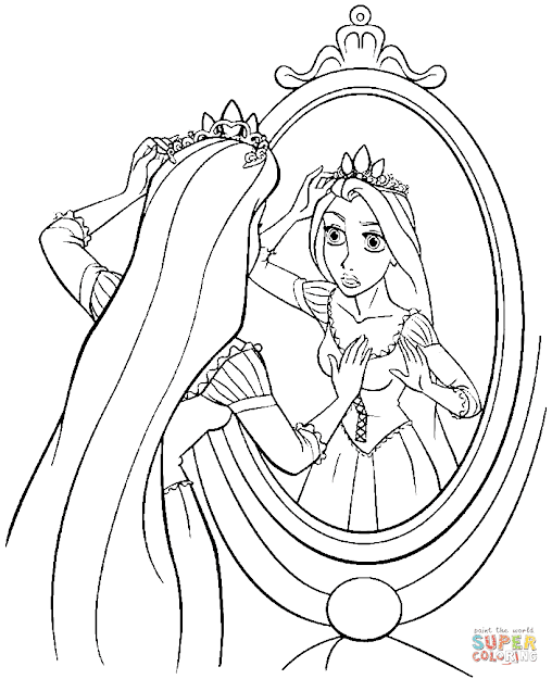 Tangled Coloring Pages Tangled Coloring Pages Free Coloring Pages To  Download