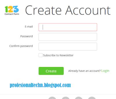 Cara Membuat Layanan Kontak Admin Blog ( Contact Us ) Dengan Mudah