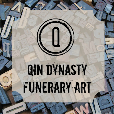 Qin Dynasty Funerary Art - Blogging Through the Alphabet on Homeschool Coffee Break @ kympossibleblog.blogspot.com