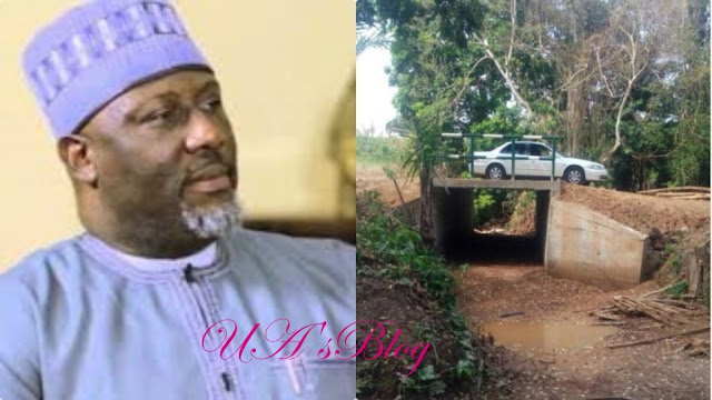 See The New Bridge Recently Completed By Senator Dino Melaye In Kogi (Photos)