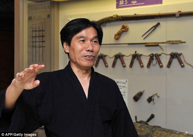 Sólo queda un Ninja vivo en todo Japón y es este hombre