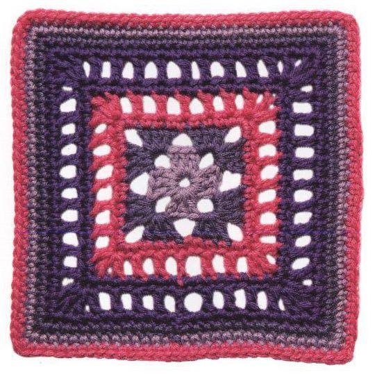 Patrón #1306: Calado a Crochet