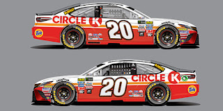 Circle K will serve as Matt Kenseth's primary in six upcoming #NASCAR races.