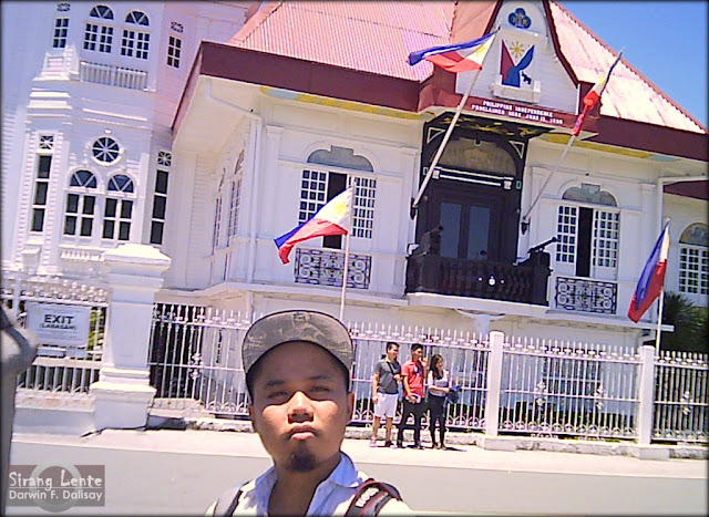 Darwin Dalisay at Aguinaldo Shrine and Museum