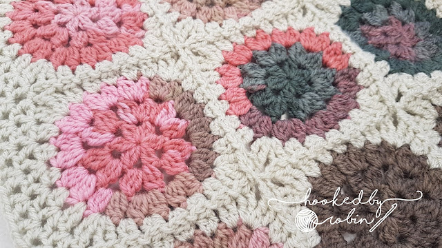 Crochet Circle in a Square