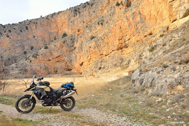 BMW F800 GS. Trail forever. Albarracín Por Fin.