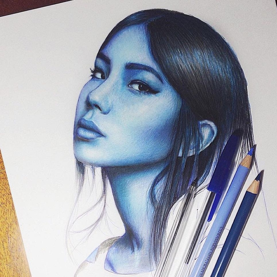 13-Blue-Marat-Utamuratov-Realistic-and-Detailed-Pencil-Portrait-Drawings-www-designstack-co