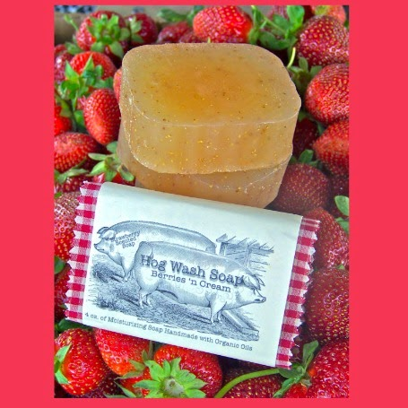 A pair of Hog Wash Soaps from Rural Revolution, llc!