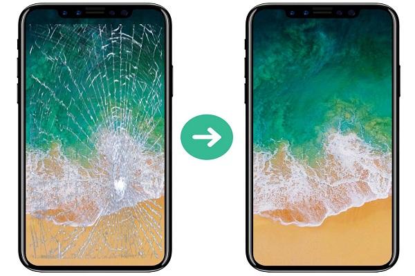 Thay mặt kính iPhone 8 giá rẻ