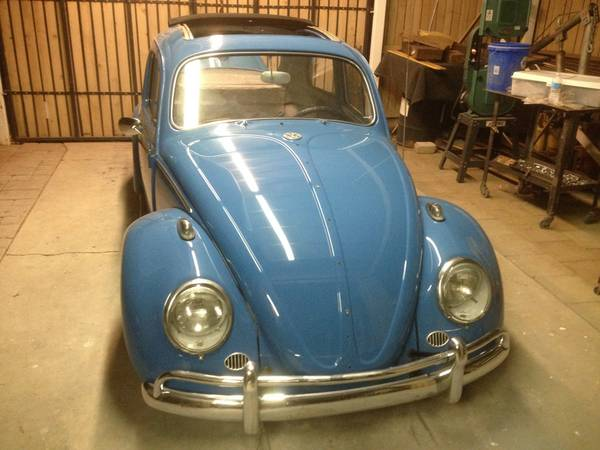 Fully Restored, 1963 Volkswagen Bug