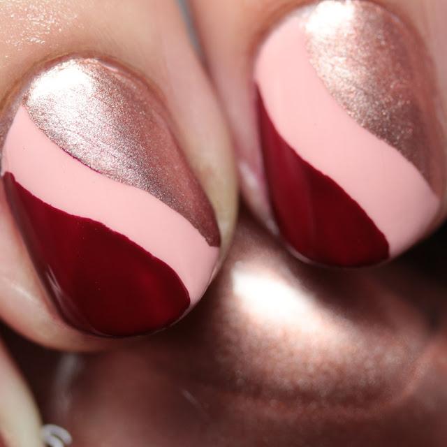 Sally Hansen Complete Salon Manicure New Winter 2016 Colors stencil nail art