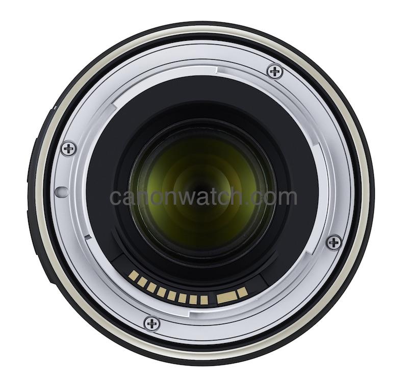 Объектив Tamron 70-210mm f/4 Di VC USD, вид сзади