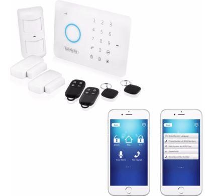 beste alarmsysteem met alarm op smartphone test 2019. Black Bedroom Furniture Sets. Home Design Ideas
